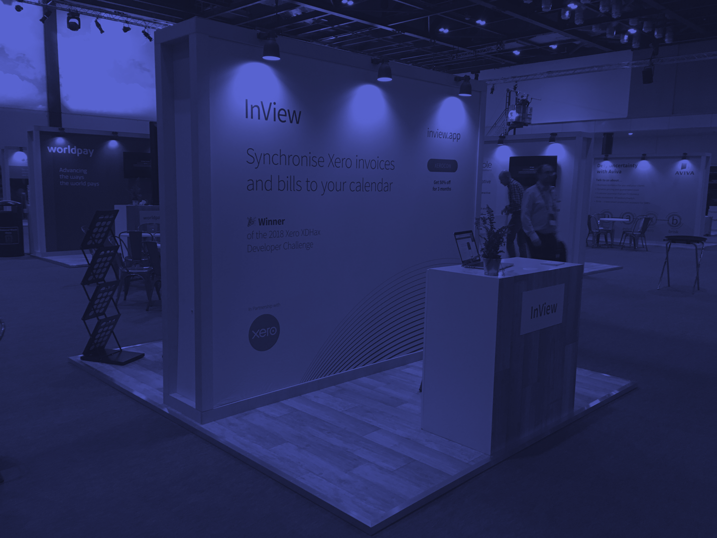 InView at Xerocon, ExCel London